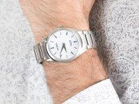 srebrny Zegarek Citizen Titanium BJ6520-82A - duże 4