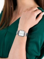 srebrny Zegarek Cluse La Tetragone CL60025S - duże 3