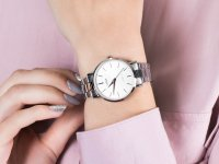 srebrny Zegarek Lorus Klasyczne RG221QX9 - duże 4