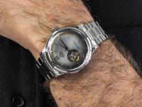 srebrny Zegarek Orient Classic RA-AG0029N10B - duże 4