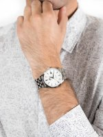 srebrny Zegarek Orient Contemporary FER2700AW0 - duże 3