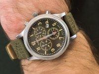 srebrny Zegarek Timex Allied TW2T75800 - duże 4
