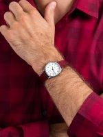 srebrny Zegarek Timex Easy Reader TW2T72200 - duże 3