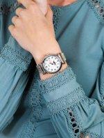 srebrny Zegarek Timex Model 23 TW2T89600 - duże 3