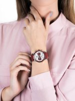 srebrny Zegarek Vostok Europe Undine VK64-515E567 - duże 3