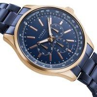 Strand S708GMVLSL zegarek różowe złoto klasyczny Irving bransoleta