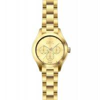 Invicta 12466 zegarek złoty klasyczny Angel bransoleta