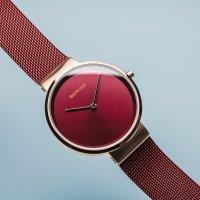 Zegarek damski Bering classic 14531-363 - duże 7