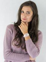 Zegarek biały klasyczny ICE Watch ICE-Pearl ICE.016939 pasek - duże 2