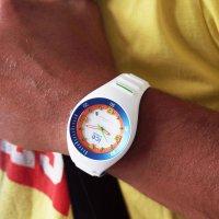 Zegarek biały sportowy ICE Watch Ice-Pierre Leclercq ICE.017595 pasek - duże 5