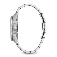 Bulova 96A187 zegarek srebrny klasyczny Automatic bransoleta