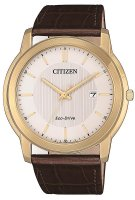 Zegarek męski Citizen leather AW1212-10A - duże 1