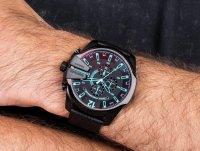 Zegarek czarny fashion/modowy Diesel Chief DZ4323 pasek - duże 4