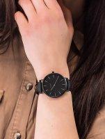 Zegarek czarny klasyczny Cluse La Boheme CLA002 pasek - duże 3