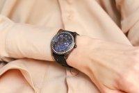 Zegarek czarny klasyczny Guess Pasek W1277L1 pasek - duże 5