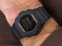 Zegarek czarny sportowy Casio G-Shock DW-5700BBM-1ER pasek - duże 4