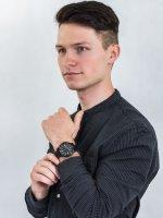 Zegarek czarny sportowy Timex Port TW2U01800 pasek - duże 2