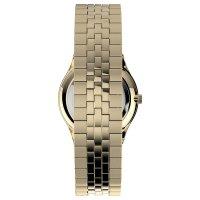 Timex TW2U40100 zegarek złoty klasyczny Easy Reader bransoleta