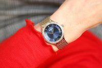 Adriatica A3176.5115QZ zegarek srebrny klasyczny Bransoleta bransoleta