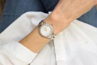 Adriatica A3418.R113QZ zegarek srebrny klasyczny Bransoleta bransoleta
