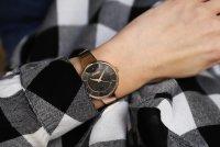 Adriatica A3718.9114Q zegarek różowe złoto klasyczny Bransoleta bransoleta