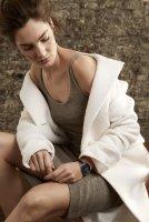 Zegarek damski Anne Klein bransoleta AK-3160BKGB - duże 2