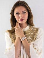 Zegarek damski Anne Klein Bransoleta AK-3312LPRG - duże 2