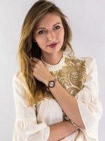 Zegarek damski Anne Klein Bransoleta AK-3386RGRG - duże 2
