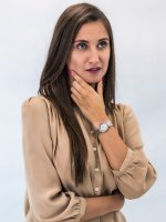 Zegarek damski Anne Klein Bransoleta AK-3409SVRT - duże 2