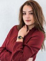 Zegarek damski Anne Klein Bransoleta AK-3416BKGB - duże 2