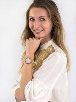 Zegarek damski Anne Klein Pasek AK-2666RGIV - duże 2