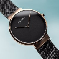 Zegarek damski Bering classic 14539-166 - duże 5