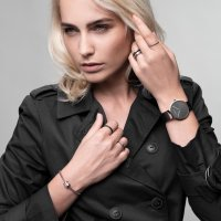 Zegarek damski Bering classic 14539-166 - duże 6