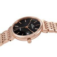 Bisset BSBF04RIBX03BX zegarek różowe złoto klasyczny Biżuteryjne bransoleta