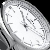 Bisset BSBE67SISX03BX zegarek srebrny klasyczny Klasyczne bransoleta