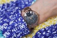 Bisset BSBE94RIBX03BX zegarek różowe złoto klasyczny Klasyczne bransoleta