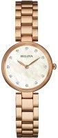 Zegarek damski Bulova diamond 97S111 - duże 1