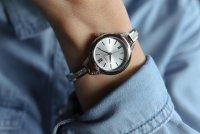 Zegarek damski Caravelle bransoleta 43L200 - duże 3