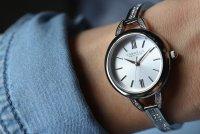Zegarek damski Caravelle bransoleta 43L200 - duże 4