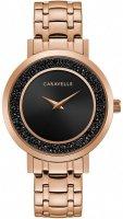 Zegarek damski Caravelle bransoleta 44L252 - duże 1