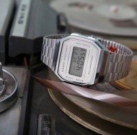 Zegarek damski Casio vintage maxi A168WEM-7EF - duże 9
