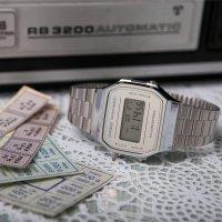 Zegarek damski Casio vintage maxi A168WEM-7EF - duże 8