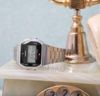 zegarek Casio Vintage ZESTAW-19-CV-GIFT-SET-SILVER srebrny Vintage