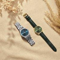 zegarek Cluse CW0101212006 kwarcowy damski Feroce Gold Forest Green Croco
