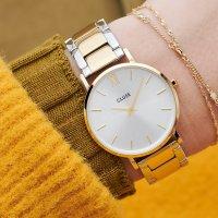 Cluse CW0101203028 Minuit 3-Link Gold Silver/Gold/Silver zegarek klasyczny Minuit