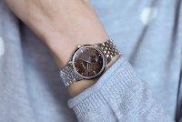 Zegarek damski Doxa slim line D156SBR - duże 2
