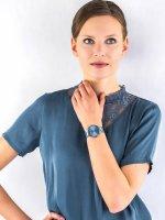 Zegarek damski fashion/modowy Bering Classic 14539-308 szkło szafirowe - duże 2