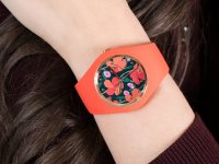 Zegarek damski fashion/modowy ICE Watch Ice-Flower ICE.017577 ICE Flower Floral passion Rozm.M szkło mineralne - duże 4