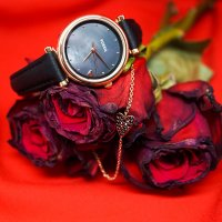 Zegarek damski Fossil carlie ES4506SET - duże 4
