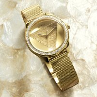 Zegarek damski Guess bransoleta W1142L2 - duże 4
